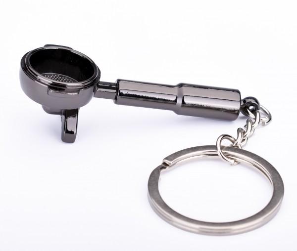 Keychain Portafilter Black