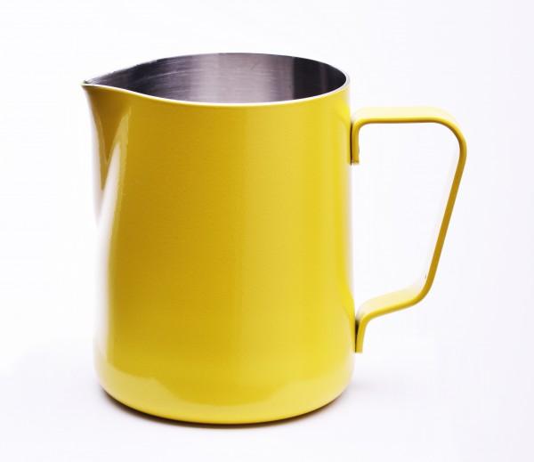 Milchkännchen mit Pulverbeschichtung Gelb