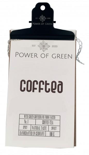 CoffTea Tee mit grünen Bohnen