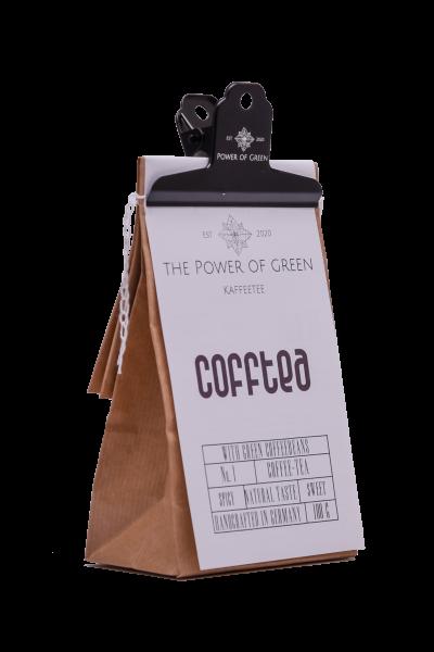 CoffTea: Tee mit grünen Kaffeebohnen
