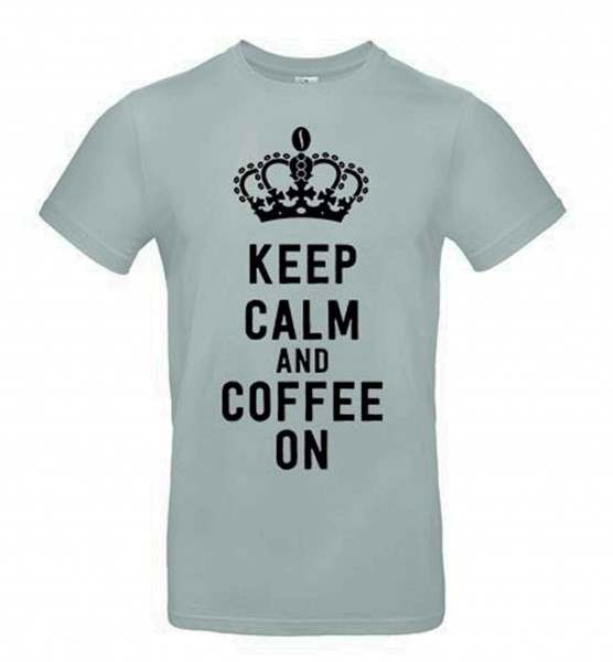 T-Shirt Grau Calm