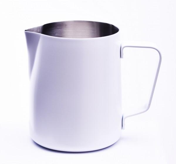 Milchkännchen mit Pulverbeschichtung Weiss